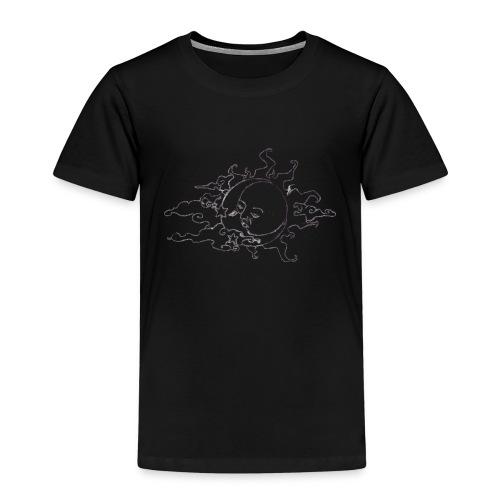 tumblr static trans sun moon png - Kinder Premium T-Shirt