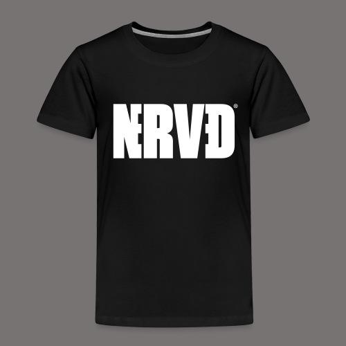 Official Nerved@ White Logotype - Kids' Premium T-Shirt