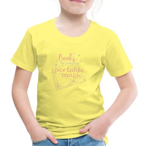 0029 books | Book | Reading | Reader | magic - Kids' Premium T-Shirt