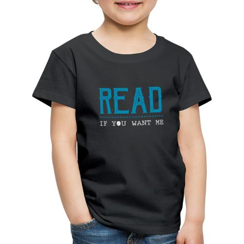 0047 reading | Desire | Eroticism | Book | bookworm - Kids' Premium T-Shirt