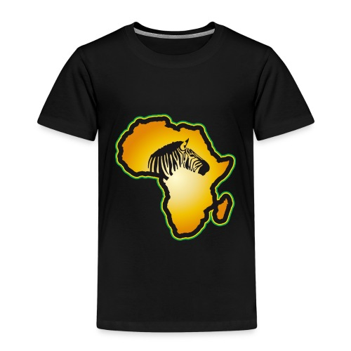 Afrikas Tierwelt Zebras Wildlife Safari Savanne - Kids' Premium T-Shirt