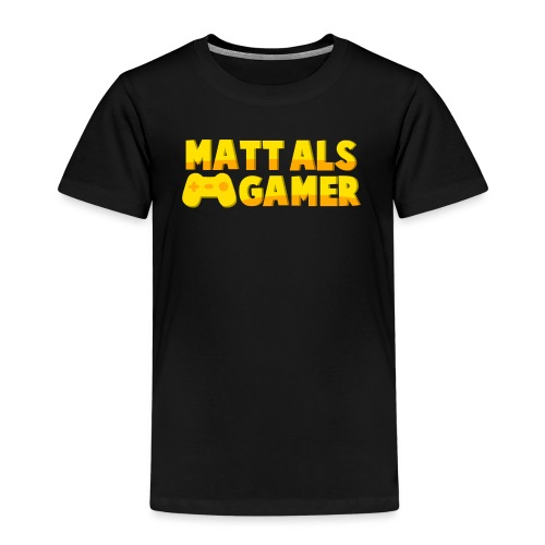 Matt Als Gamer Logo - Kinderen Premium T-shirt