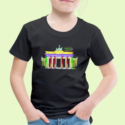Berlin/Brandenburger Tor/PopArt/BerlinLightShow - Kinder Premium T-Shirt