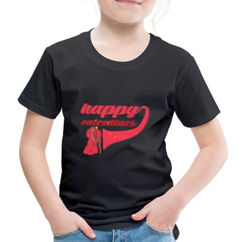 Fröhlicher Valentin Valentinstag Liebe Paar - Kinder Premium T-Shirt