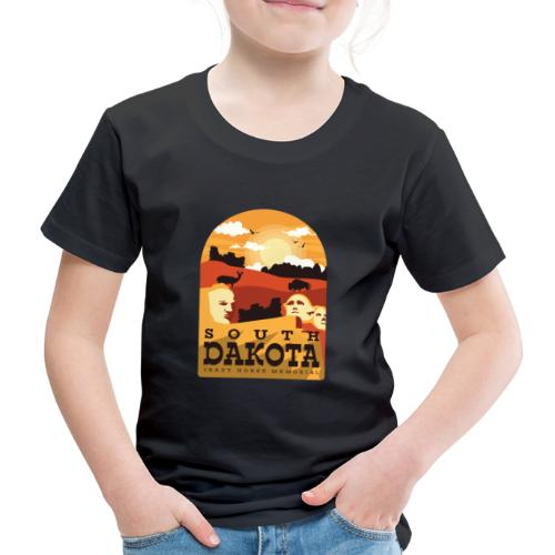 Cooles South Dakota Design online - Kinder Premium T-Shirt