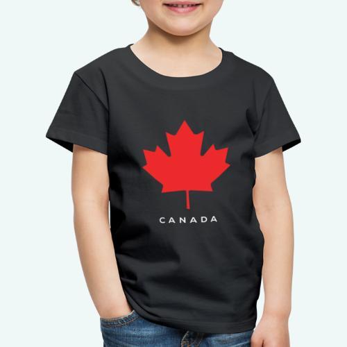 Canada-Lover - Kinder Premium T-Shirt