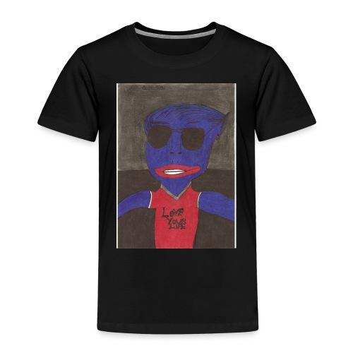 Alien super star en amour - T-shirt Premium Enfant