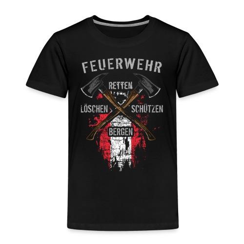 Retten Löschen Bergen Schützen - Kinder Premium T-Shirt