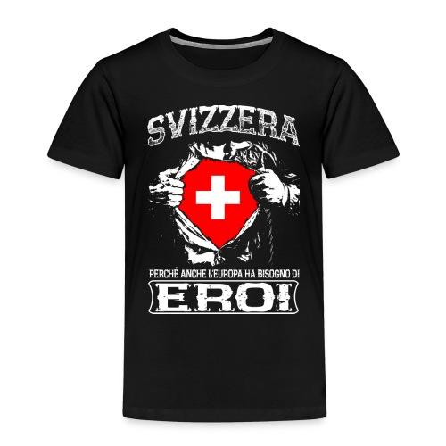 Svizzera - Eroi - Europa - Kinder Premium T-Shirt