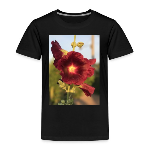 Red Hollyhock - Kids' Premium T-Shirt