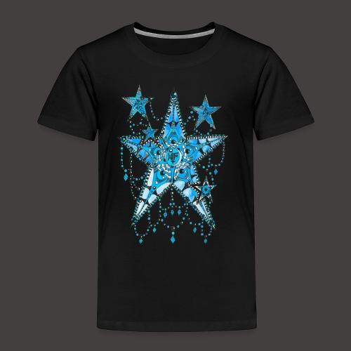 ETOILE DENTELLE BLEUE - T-shirt Premium Enfant