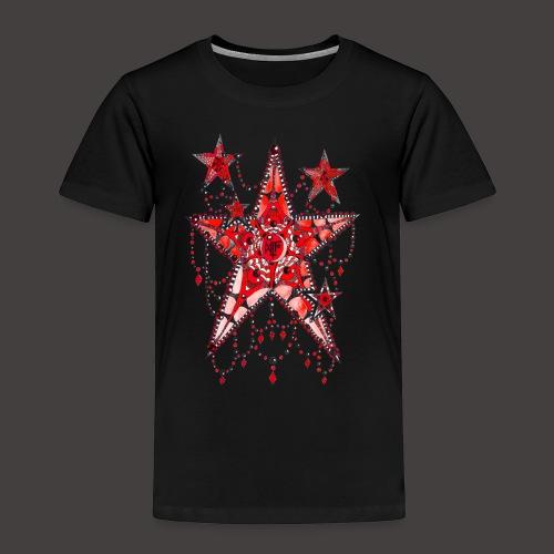 ETOILE DENTELLE ROUGE - T-shirt Premium Enfant