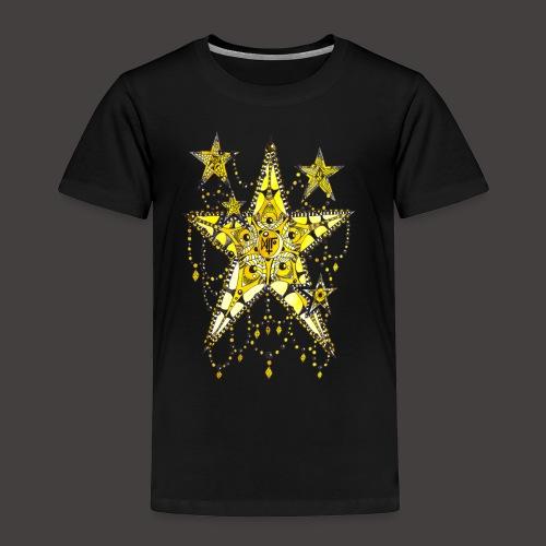 ETOILE DENTELLE JAUNE - T-shirt Premium Enfant