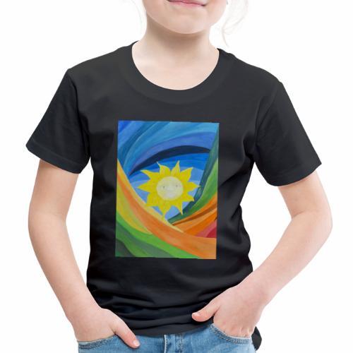 lachende-sonne - Kinder Premium T-Shirt