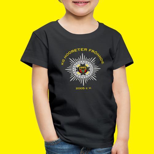Gelbe Schrift - Kinder Premium T-Shirt
