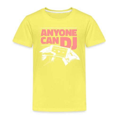 anyonecandj2farver 3 - Børne premium T-shirt