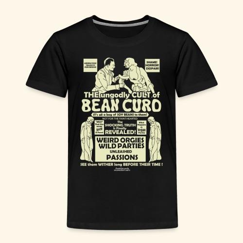 Vegan Tofu T Shirt Design Bean Curd - Kinder Premium T-Shirt