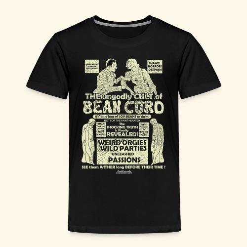 Veggie T Shirt Design Bean Curd Film Poster Spoof - Kinder Premium T-Shirt