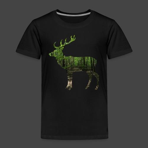 """Hirschwald""-Jägershirt - Kinder Premium T-Shirt"