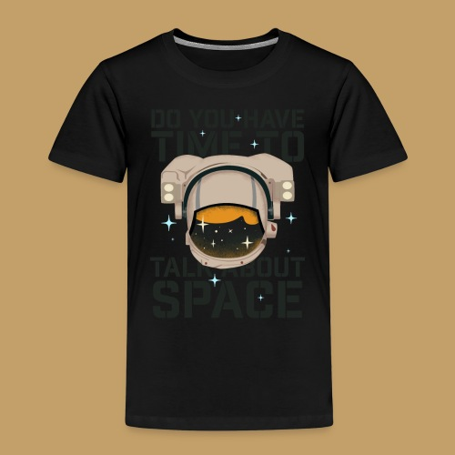 Time for Space - Koszulka dziecięca Premium