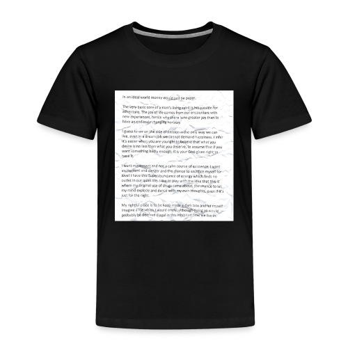 Life Quote Tee - Kids' Premium T-Shirt
