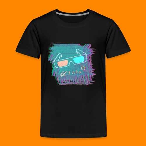 3D Summer - Kids' Premium T-Shirt