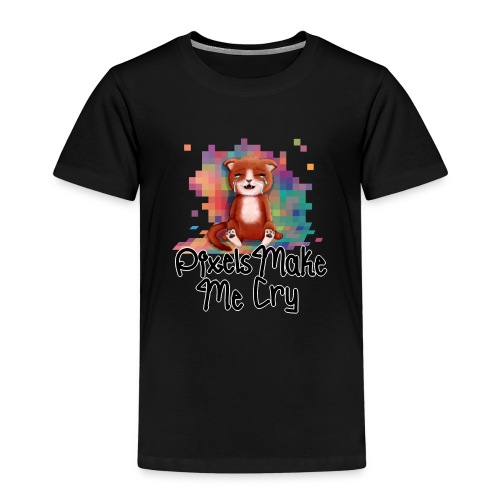 Pixel's Make Me Cry - Kids' Premium T-Shirt