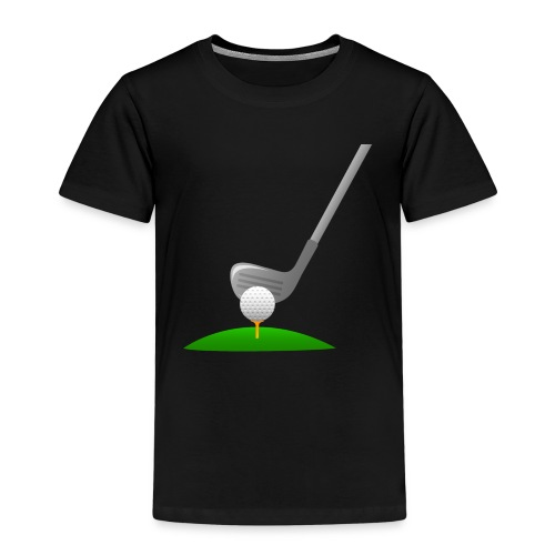 Golf Ball PNG - Camiseta premium niño