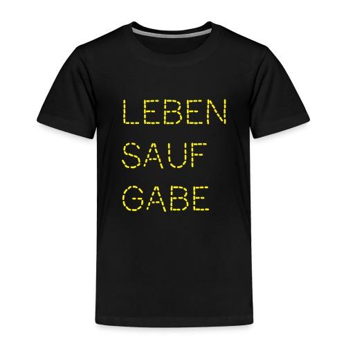 Lebensaufgabe - Kinder Premium T-Shirt