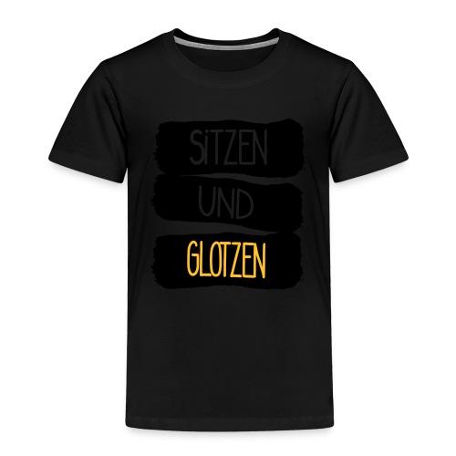 Sitzen Und Glotzen - Kinder Premium T-Shirt
