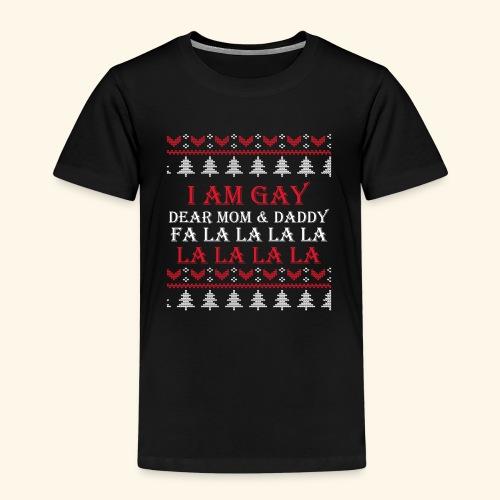 Gay Christmas sweater - Koszulka dziecięca Premium