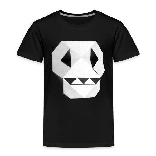 Origami Skull - Skull Origami - Calavera - Teschio - Kids' Premium T-Shirt