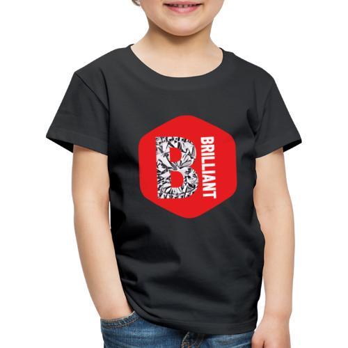 B brilliant red - Kinderen Premium T-shirt