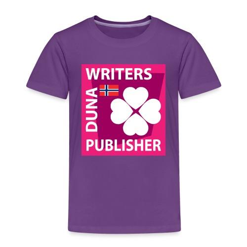 Duna Writers Publisher Pink - Premium T-skjorte for barn