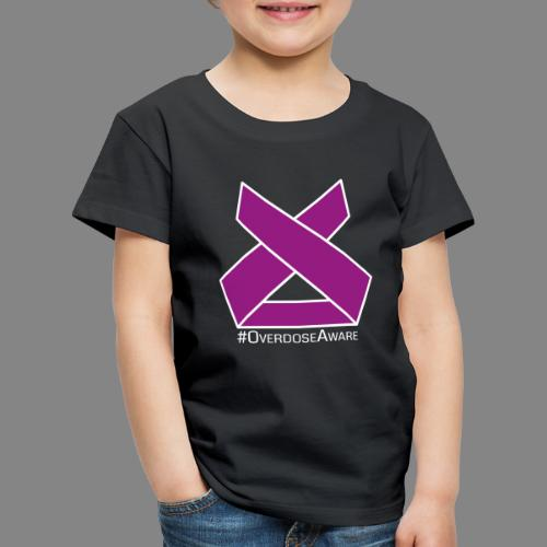 Drug Overdose Awareness Day Drogen Achtsamkeit - Kinder Premium T-Shirt
