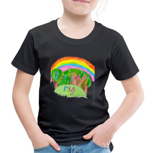 Kirja ry - Lasten premium t-paita