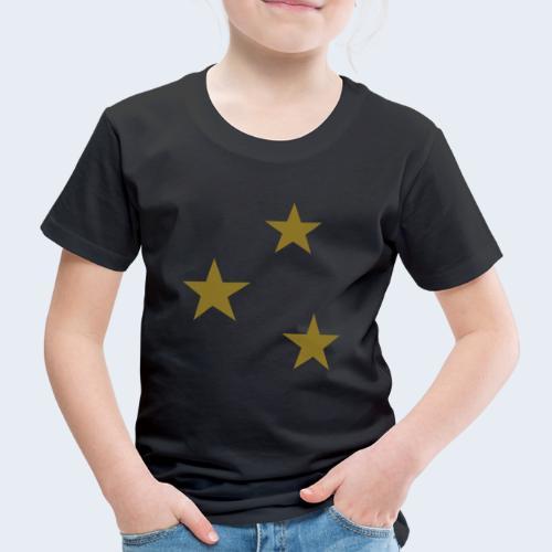 3 Stars - Kinderen Premium T-shirt