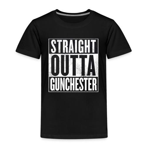 Straight Outta Gunchester - Kids' Premium T-Shirt