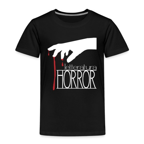 T-Shirt LetteraturaHorror.it donna - Maglietta Premium per bambini