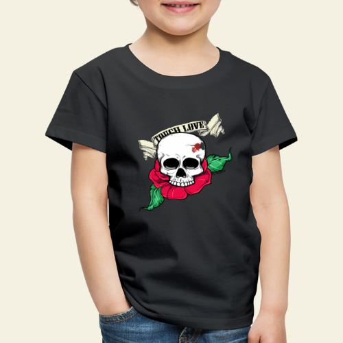 tough love - Børne premium T-shirt