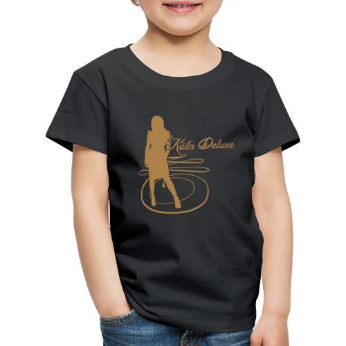 frau p1 - Kinder Premium T-Shirt