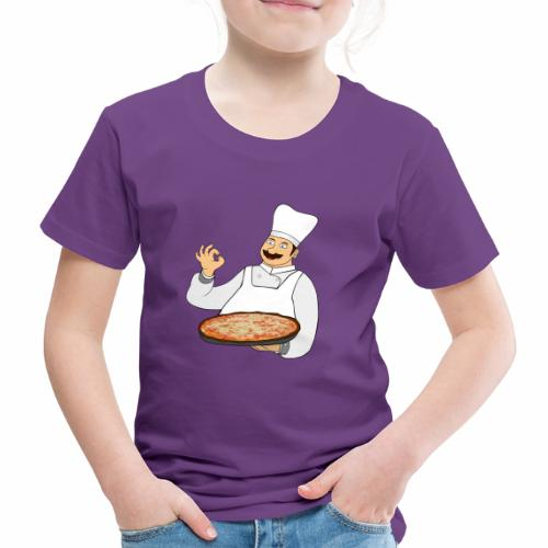 Pizza Bäcker - Kinder Premium T-Shirt