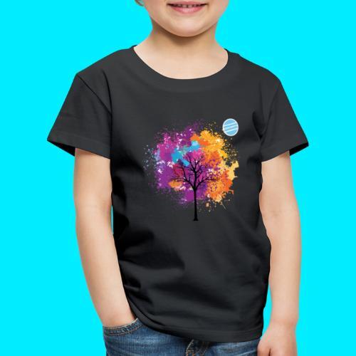LOGO AUTUNNO BANCOMATTI - Maglietta Premium per bambini