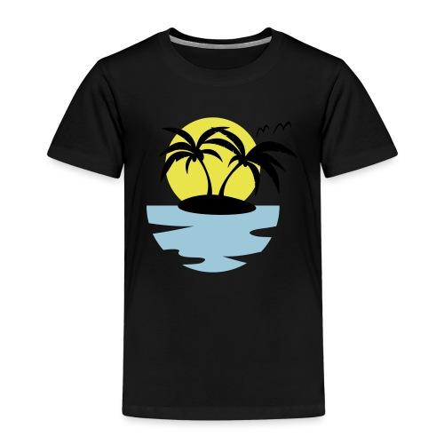 Island, Sun and Sea - Kids' Premium T-Shirt