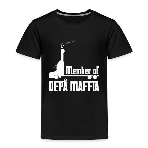 Depå Maffia vitt tryck - Premium-T-shirt barn