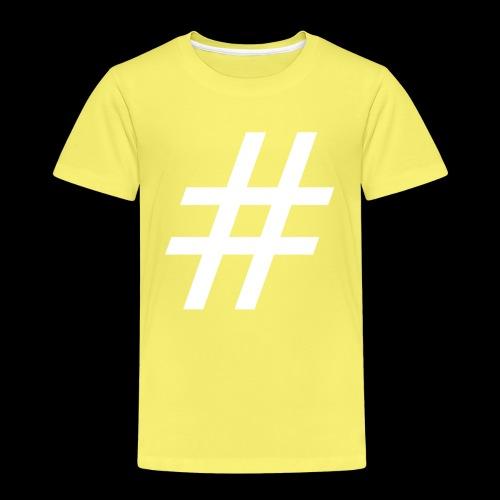 Hashtag Team - Kinder Premium T-Shirt