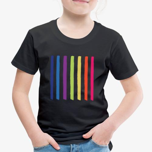 Linee - Maglietta Premium per bambini