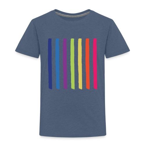 Linjer - Børne premium T-shirt