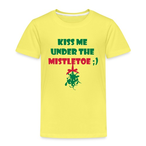 mistletoe - Kinder Premium T-Shirt