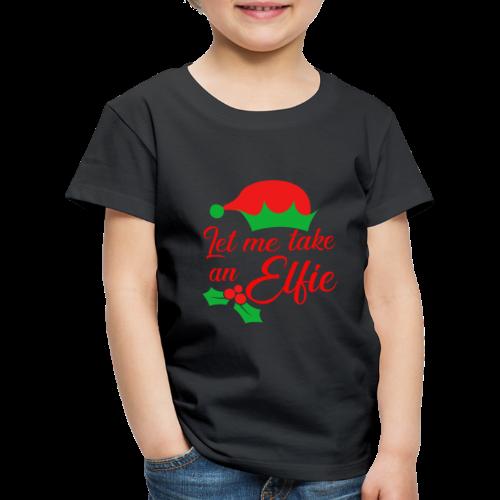 Weihnachten   Elf Mütze Weihnachtself Wortspiel - Kinder Premium T-Shirt